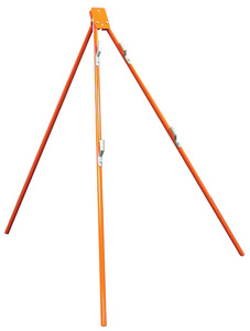 SAFETY FLAG TRI-POD STAND FOR RIGID & ROLL-UP SIGNS